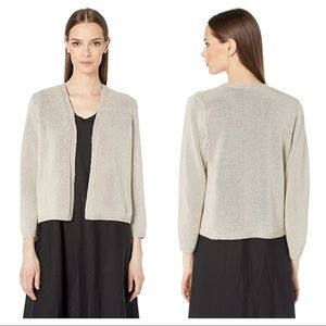 Eileen Fisher Recycled Cotton Shine Cardigan